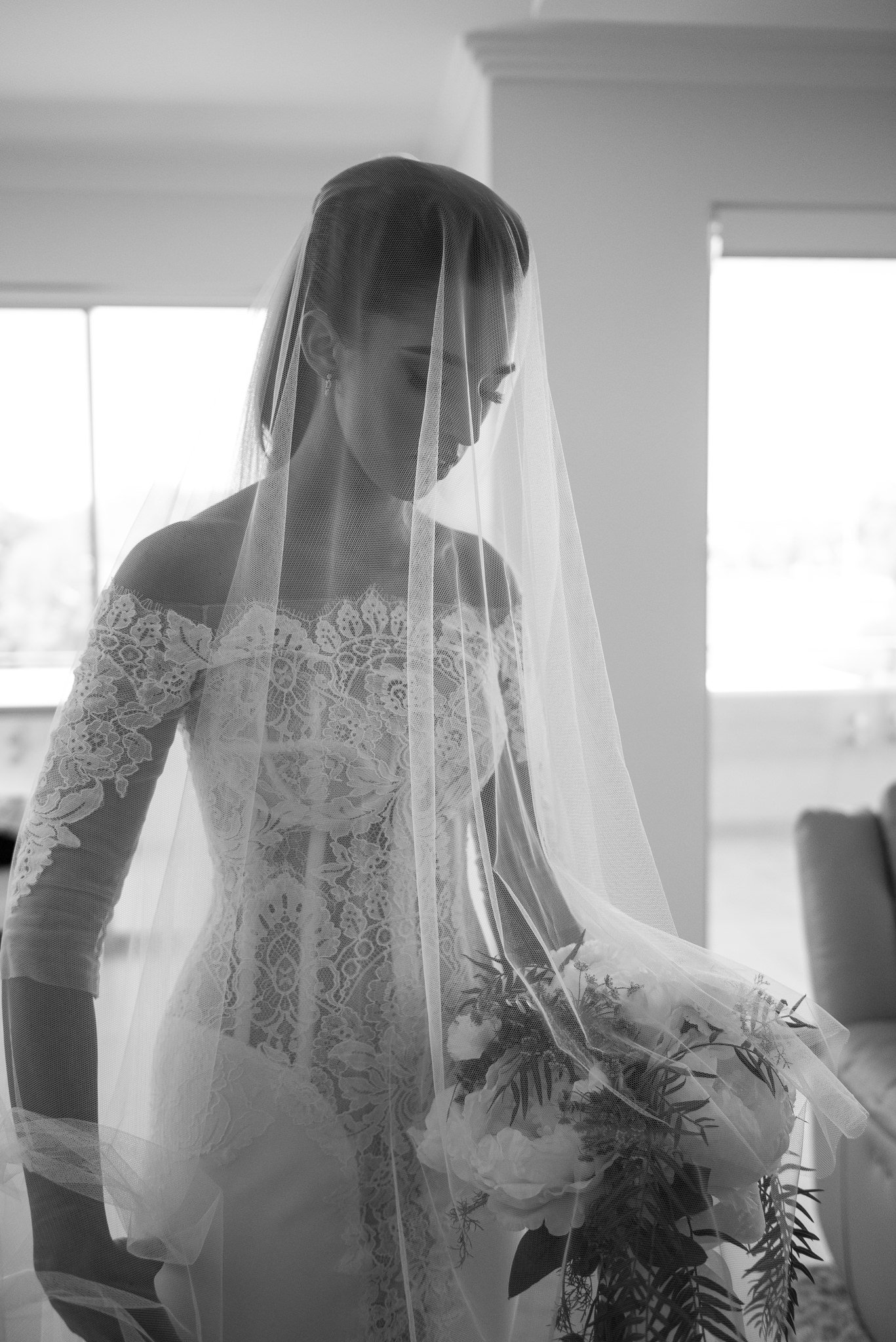 bride ready to leave